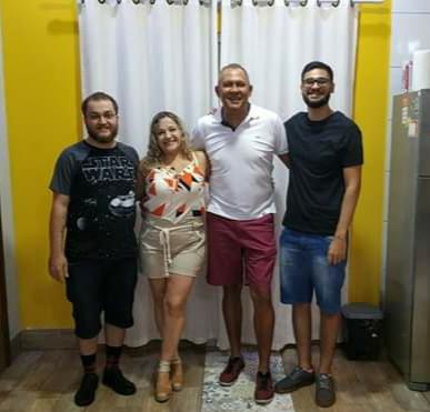 Jaime Batista e família