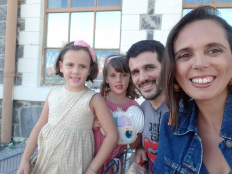 Rodrigo Bueno e família