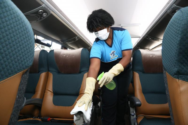 Andorinha de Prudente intensifica desinfecção veicular com ozônio