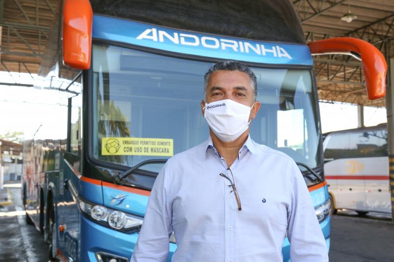 Andorinha intensifica higienização veicular com ozônio