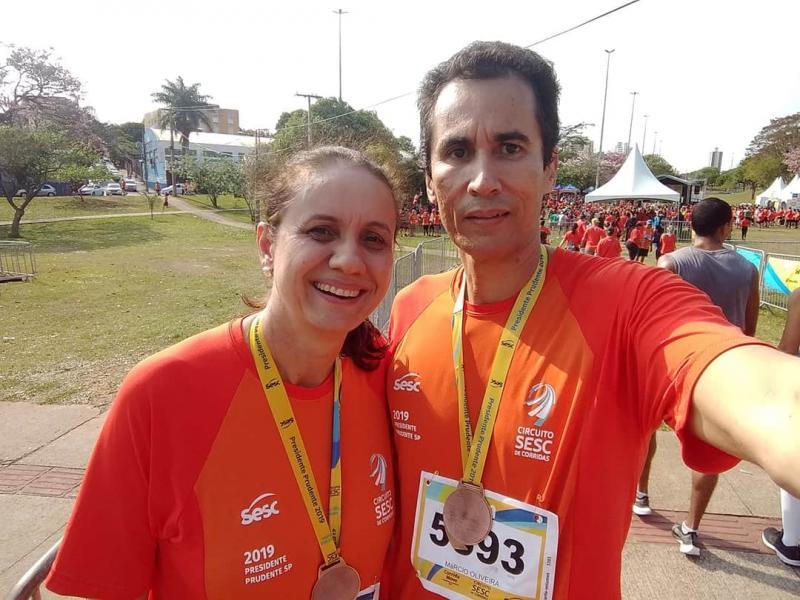 Érica Vianna Fernandes e Marcio Fernandes