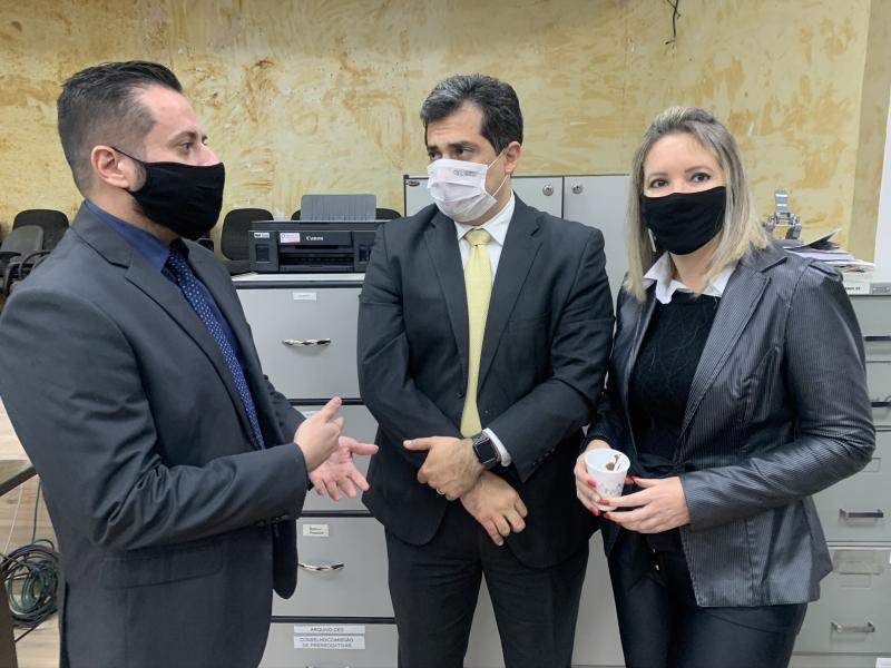 Wesley Cottini, Marco Goulart e Debora Zola