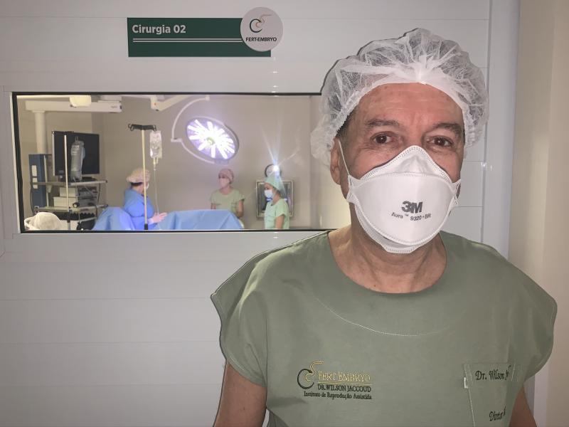 Médico Wilson Jaccoud faz primeira videohisteroscopia endometrial em Presidente Prudente