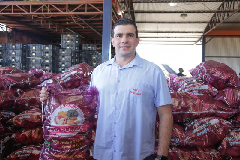 empresa de montalvão, distrito de presidente prudente, se destaca no cultivo e beneficiamento total da batata-doce