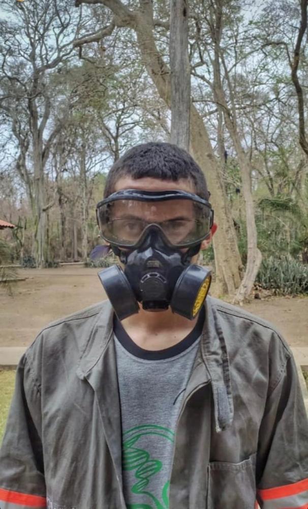 amigos da região de presidente prudente ajudam no combate à queimada do Pantanal