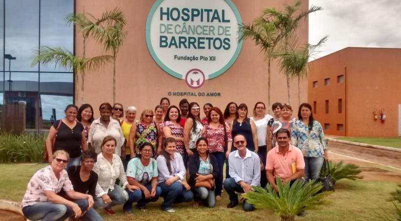caravana ao hospital de amor de barretos mulheres região presidente prudente