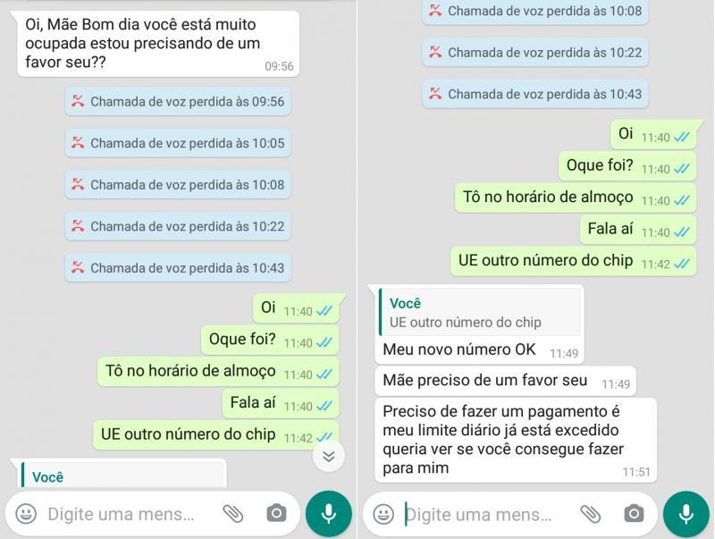 golpe do whatsapp faz vítimas em presidente prudente