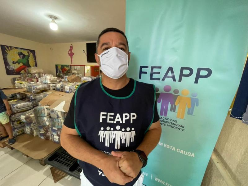 Feapp arrecada cestas básicas para entidades de Presidente Prudente