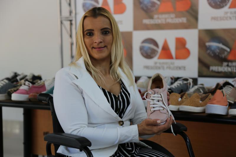 campanha da OAB de presidente prudente busca calçados para pessoas amputadas