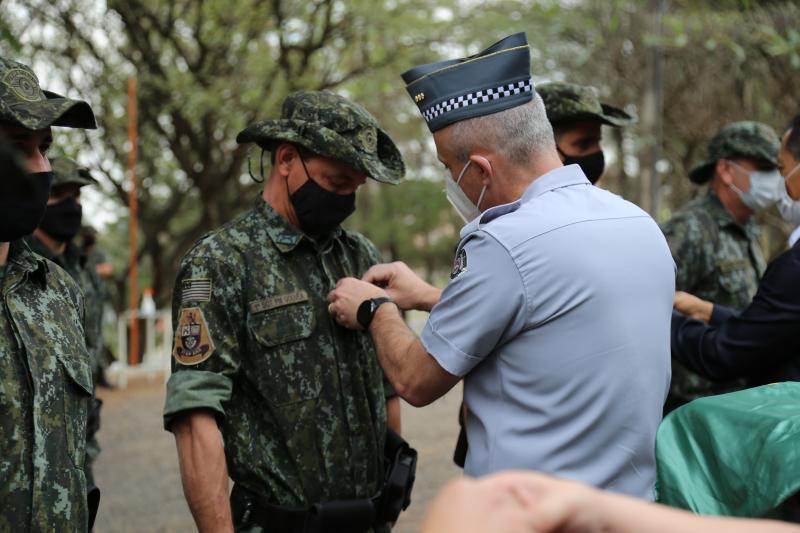 inauguração da nova sede da polícia militar ambiental em presidente prudente