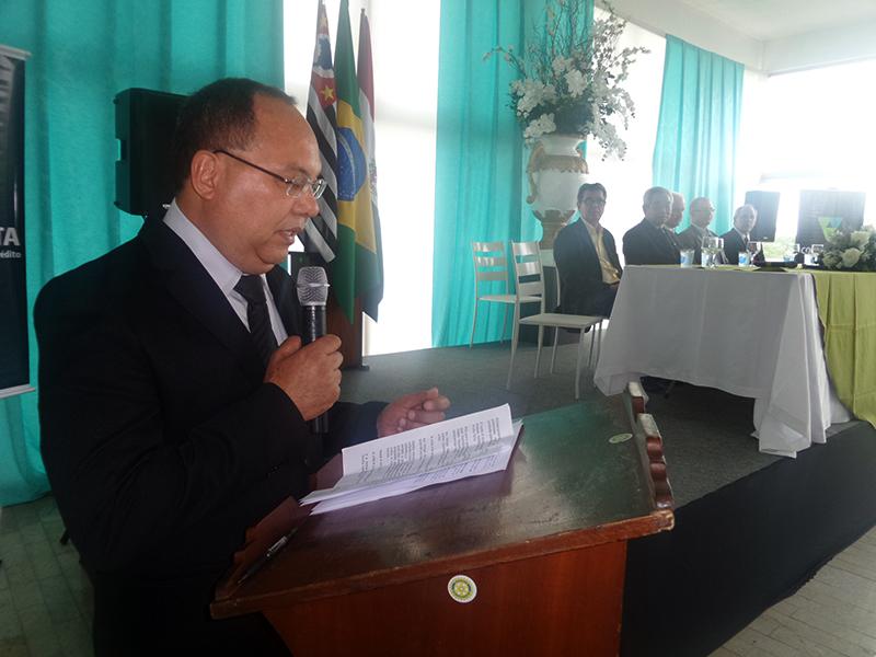 ANTONIO JOÃO BATISTA DE SOUZA, DIRETOR GERAL DO SICOOB PAULISTA