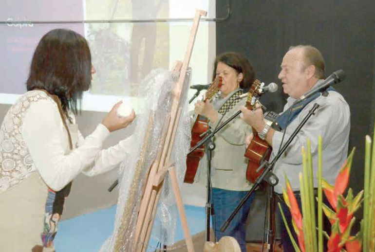 Cedida/APE, Música e artes plásticas se misturam nas edições do Sarau Solidário, em Presidente Prudente