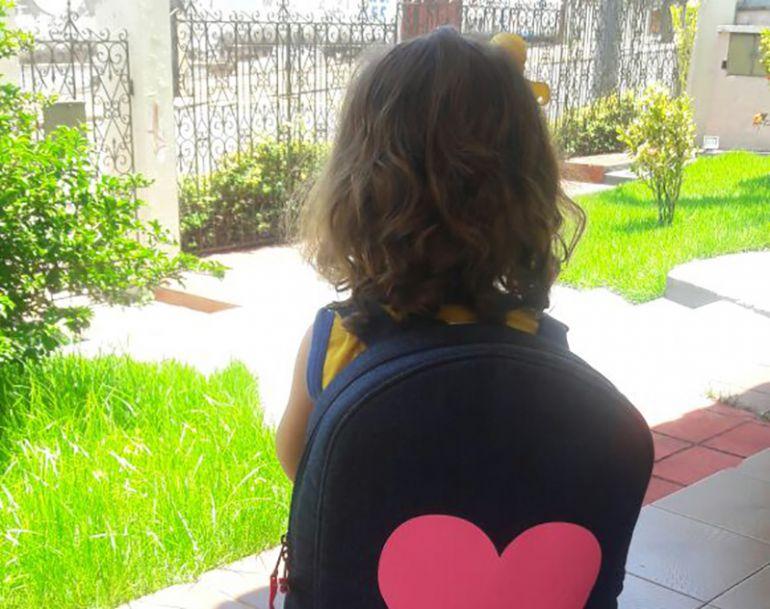 Aline Martins, Crianças e os adolescentes devem tomar cuidado com o peso das mochilas