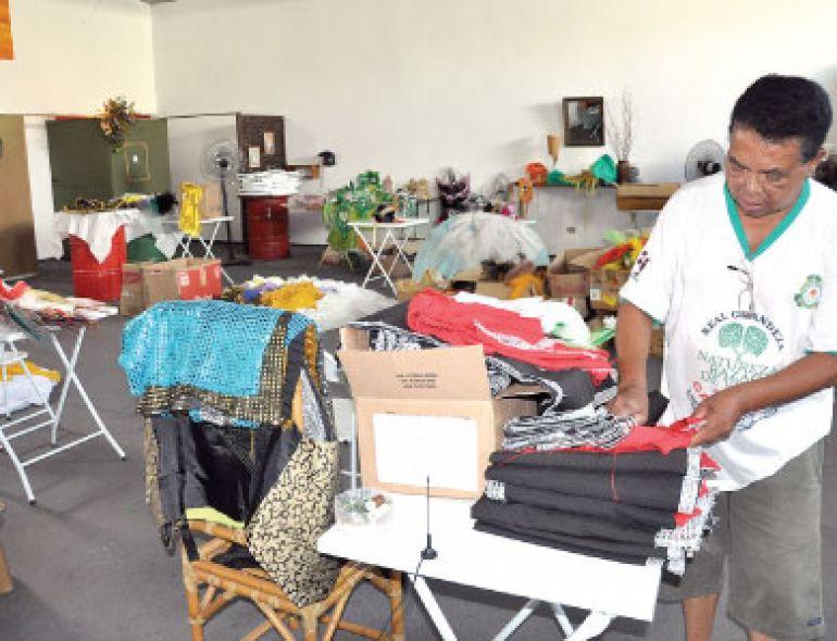 José Reis, As quatro escolas que saem como Liga das Escolas de samba contam a história do carnaval