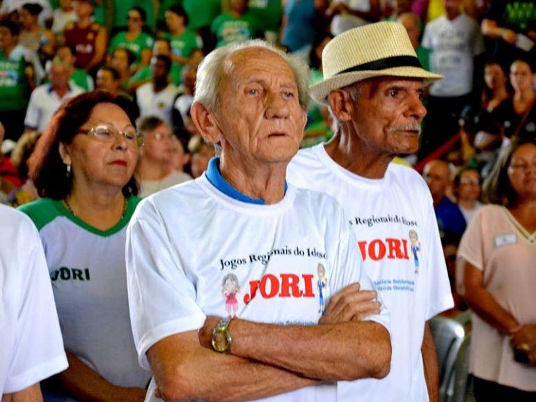 Cedida Rádio Metrópole / Cristiano Nascimento,1.826 idosos estiveram presentes nos jogos em diferentes modalidades