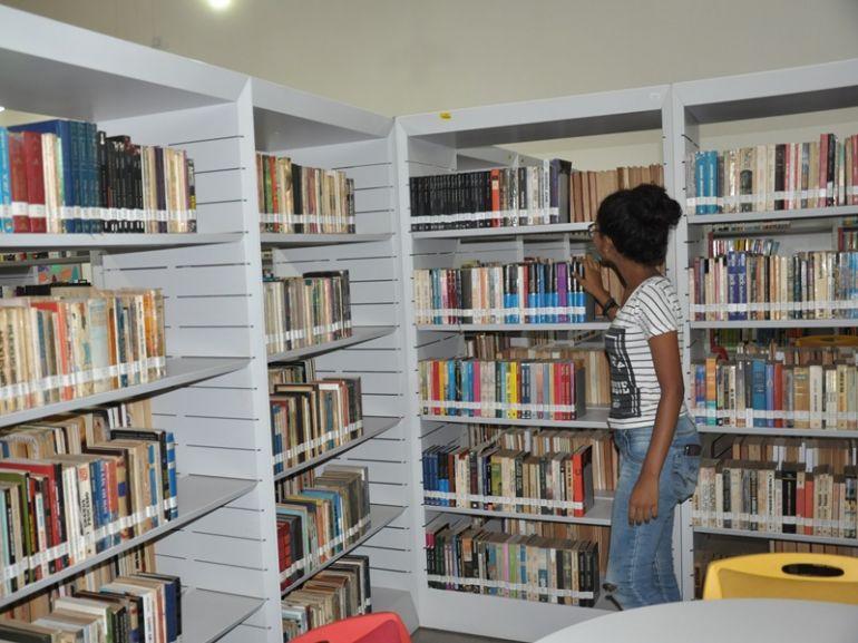 José Reis, A cada ano a frequência na biblioteca de PP vem aumentando, conquistando mais adeptos