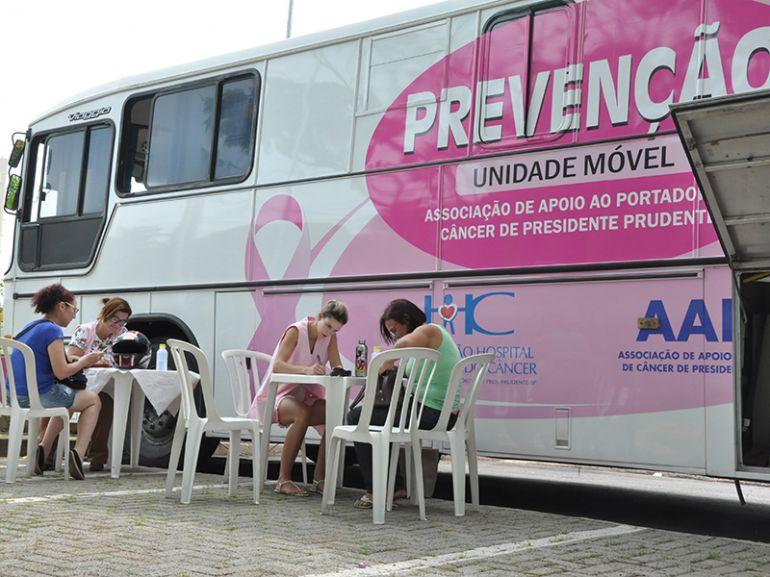 José Reis,Unidade Móvel de Prevenção da AAPC atendeu mulheres entre 25 e 65 anos, em dois dias