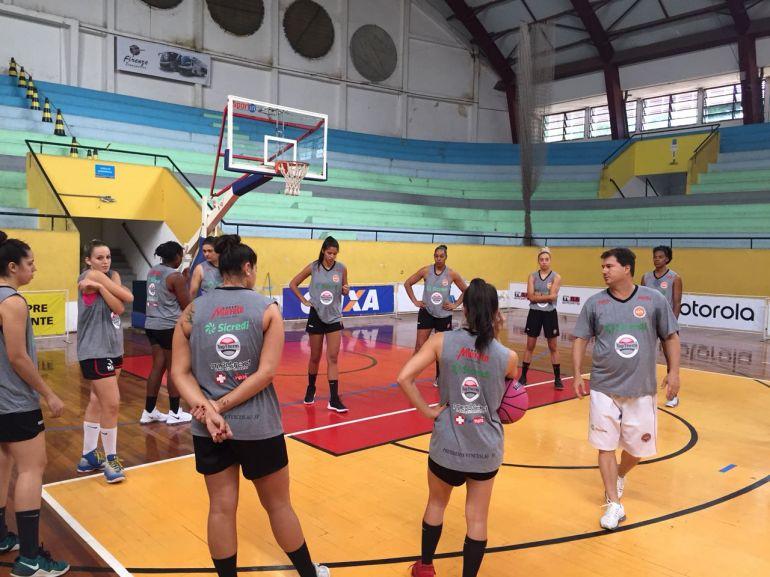 Cedida/Conrado Gomes/AI do Basquete Venceslau - Com apenas dois treinos na semana, time da região se anima para enfrentar o lanterna