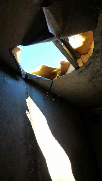 WhatsApp - Polícia localizou buraco no veículo feito com auxílio de algema