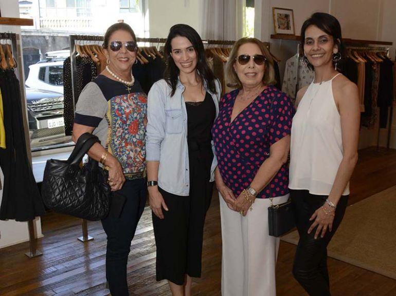 Marlice Reis, Flaviane Castro, Maria Cristina Volpon e Carla Martins