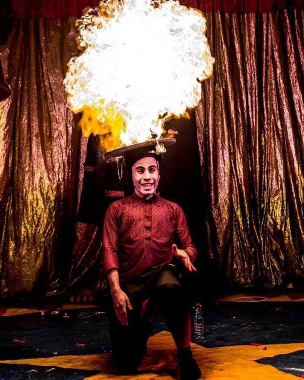 """Divulgação/Ricardo Avelar:""""Momentos de Liberdade"""" é composto por representações clássicas de habilidades circenses"""