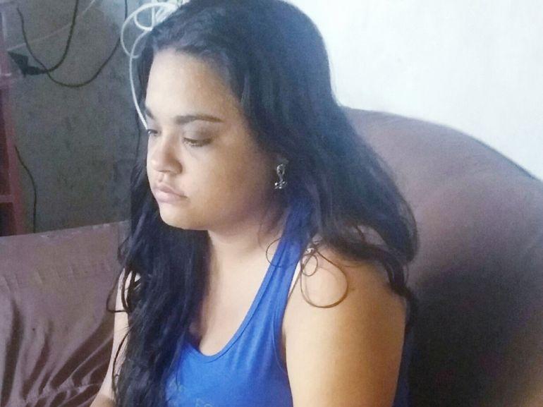 Cedida -Aline conseguiu judicialmente o remédio, mas foi cancelado
