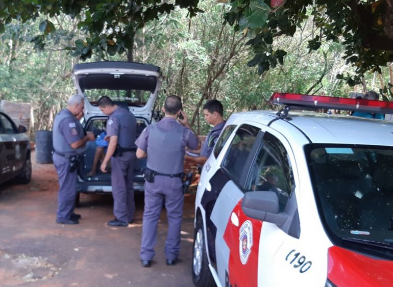 Wagner Bueno/Portal Bueno - Marido foi preso e encaminhado à Polícia Civil, mas negou o homicídio