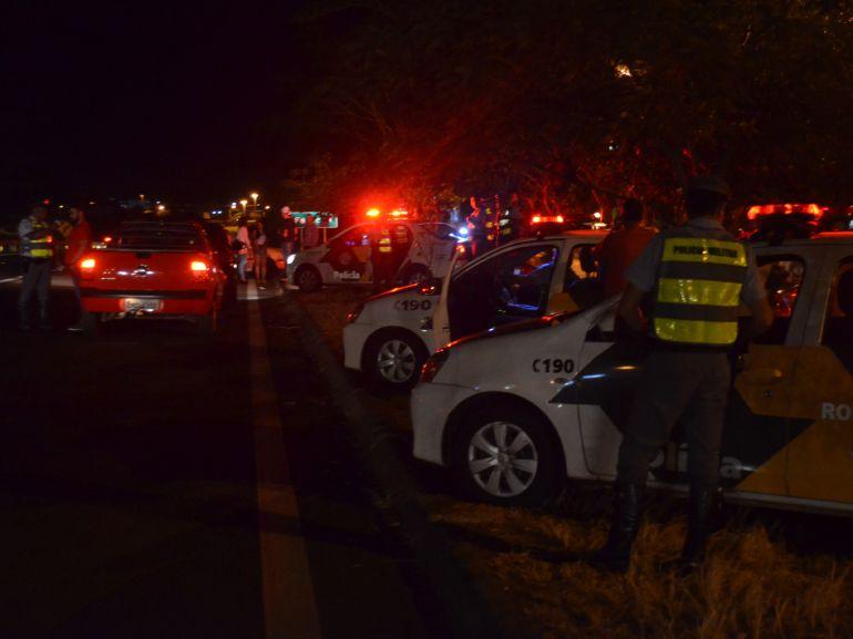 Semav - Polícia Rodoviária realizou ações fiscalizatórias na SP-270