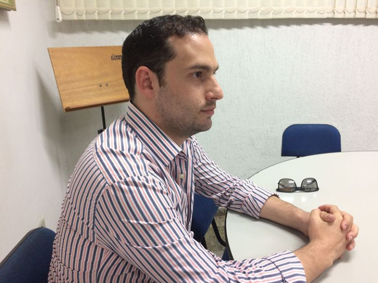 Gabriel Buosi - José Lemes esteve na sede de O Imparcial, na tarde de ontem