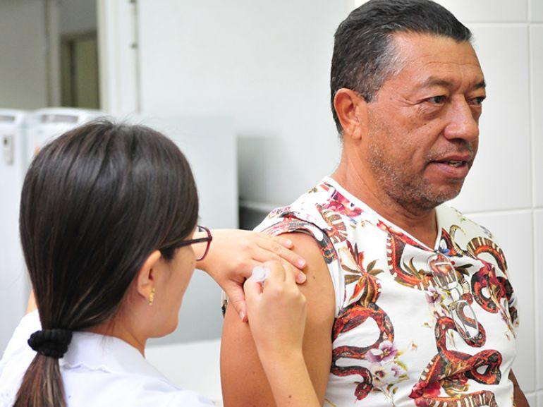 Arquivo - Ação segue até 1º de junho, em 28 salas de vacinação de PP
