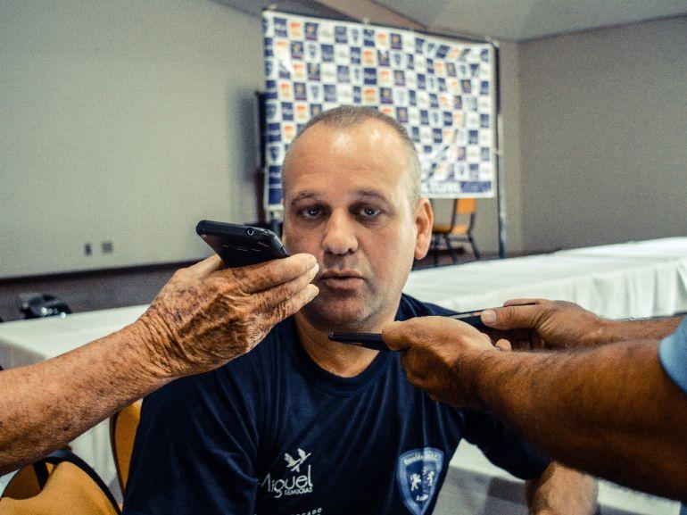 Cedida/Pedro Afonso/AI do Osvaldo Cruz - Rogério Delgado retorna com o objetivo de conseguir o acesso