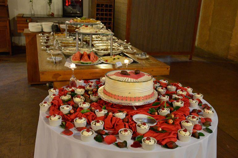 Gastronomia especial para a noite dos Namorados, no Terra Parque Hotel de Lazer
