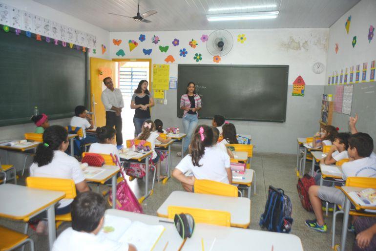 Secom / Marcos Sanches - Atividade foi lançada hoje, na EM Maria do Socorro Brito de Almeida, na Cecap