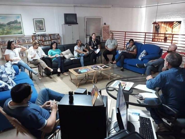 Secult - Reunião foi realizada nesta manhã, no gabinete no secretário municipal de Cultura