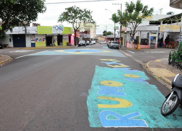 Marcio Oliveira - Rua do Ana Jacinta se encontra quase pronta para a Copa do Mundo