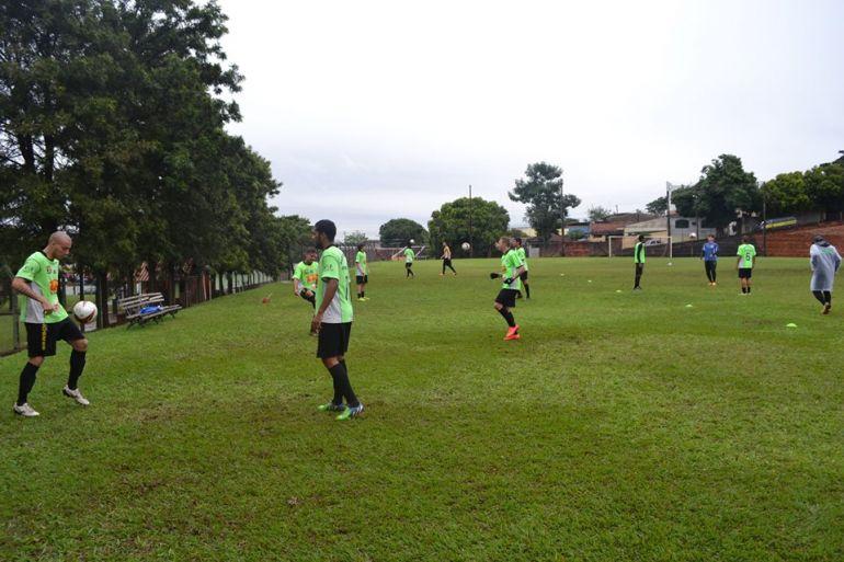 Cedida/Matheus Grosso - Profissional foi desativado neste ano por conta de problemas financeiros do time