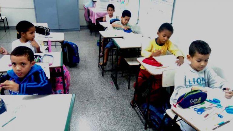 Cedida / E.M. Pioneira Ludovica Ligabo Rodrigues - Alunos do 1º ao 5º ano trabalham com O Imparcial na escola