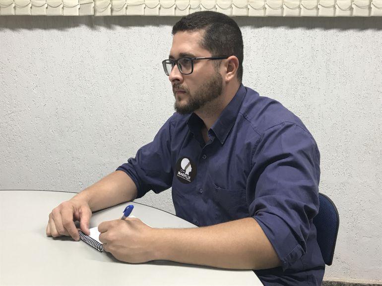 Gabriel Buosi - De Santo Anastácio, Bruno Lozzi é candidato pelo PSOL