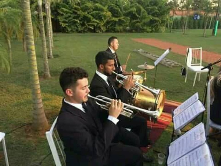Cedida - Atualmente, trompetista está na Orquestra sinfônica Jovem de Goiás