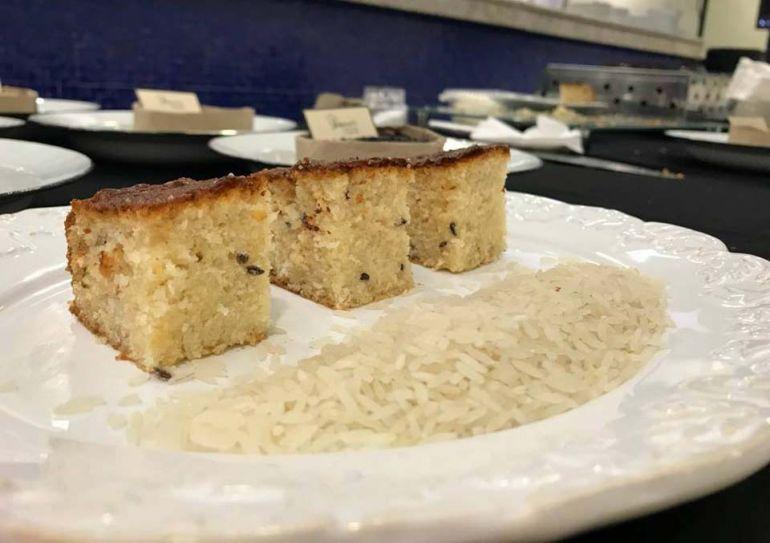 Divulgação - Participantes terão a oportunidade de aprender a fazer diferentes pratos, como bolo doce, feito com o cereal