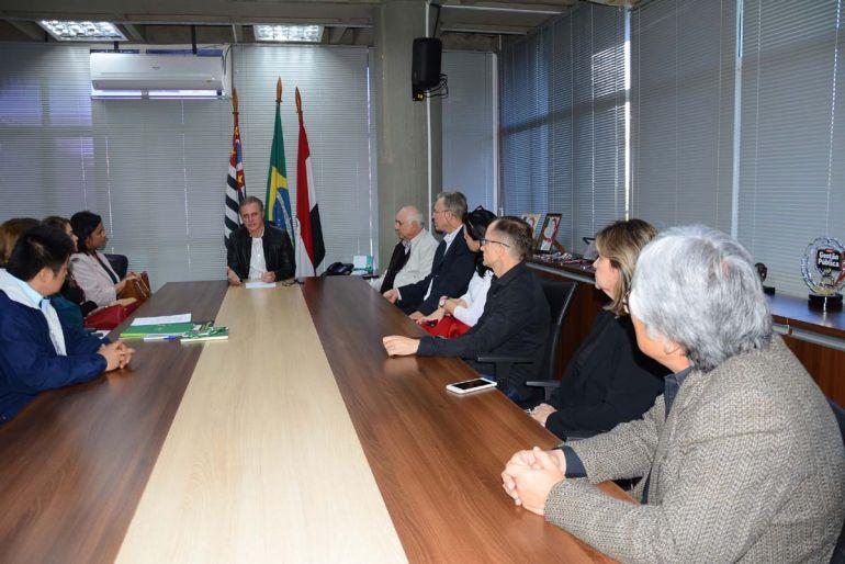 Marcos Sanches/Secom - Iniciativa foi apresentada nesta tarde, por representantes de 5 cooperativas, ao prefeito de PP