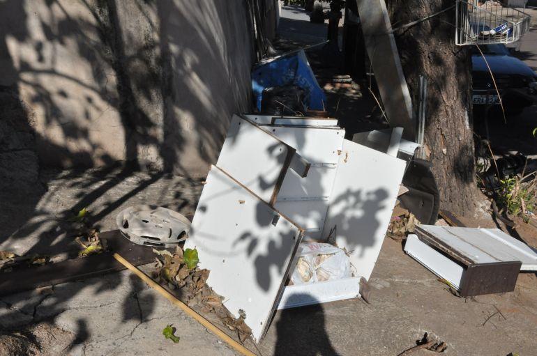 José Reis - Mobiliários dispostos em calçadas do bairro ainda não foram recolhidos