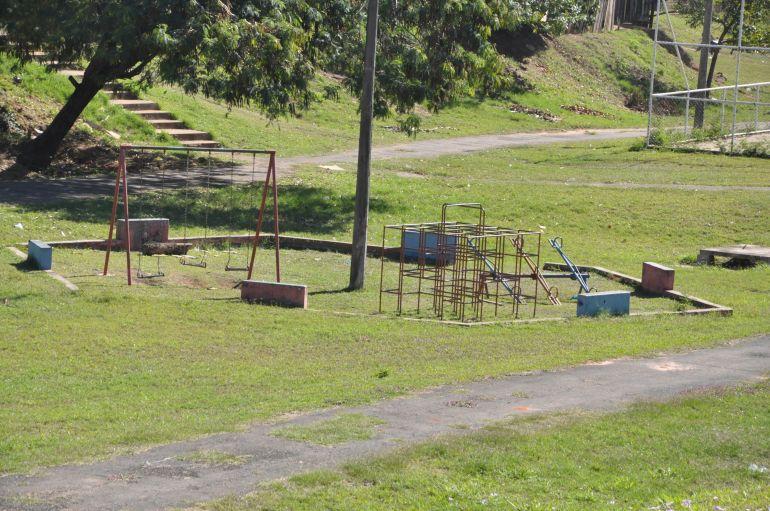 José Reis - Equipamentos do parque de lazer carecem de reparos, segundo vizinhança