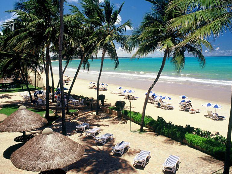 Maceió, capital de Alagoas, destino de excursão da agência Wesley Cotini, em dezembro