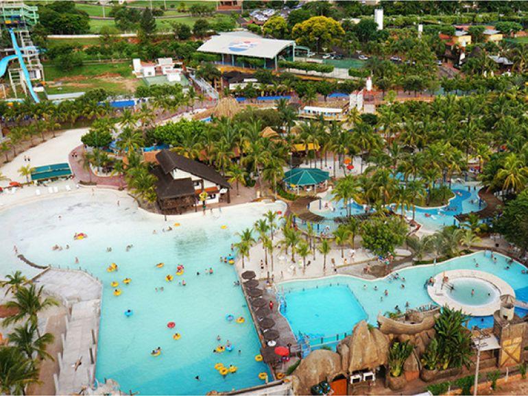 Divulgação - Resort está ao lado do Thermas dos Laranjais, que recebe mais de 2 milhões de visitantes por ano