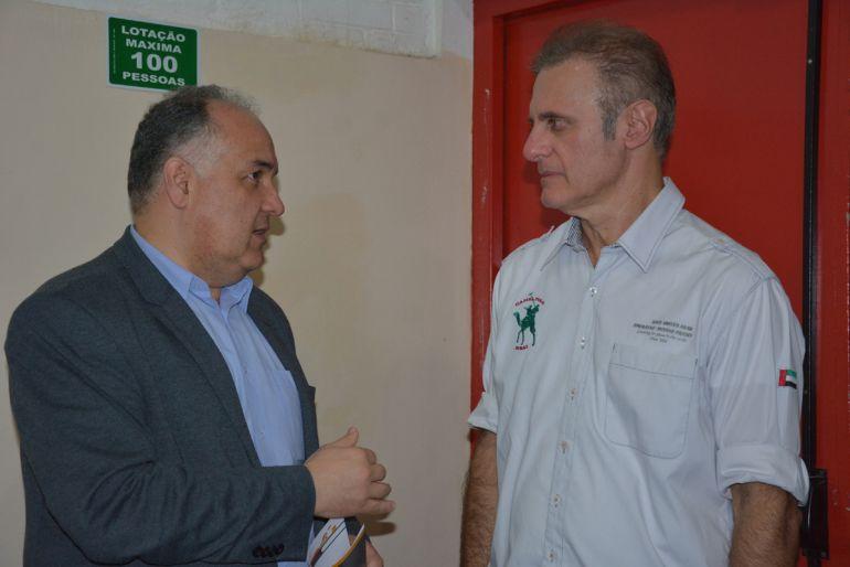 Secom - Campello, secretário de Cultura de SP, conferiu início do Flitpp