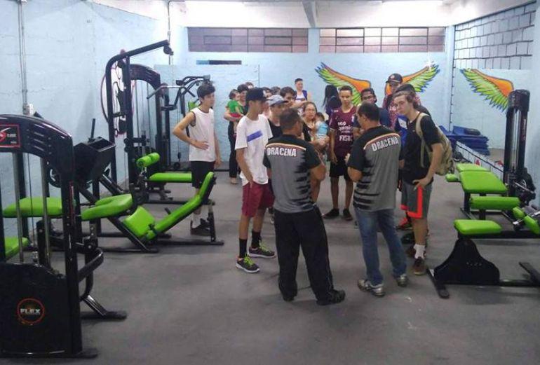 Cedida/Claudio José Pasqualeto - Academia de musculação, inaugurada nesta semana, tem capacidade de atender em média 15 pessoas por dia