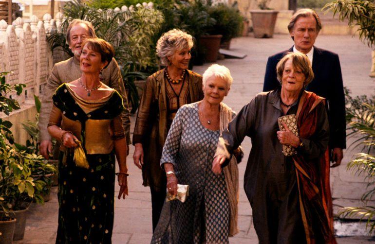 """Divulgação - Em """"O Exótico Hotel Marigold"""", aposentados decidem curtir a aposentadoria em um lugar diferente"""