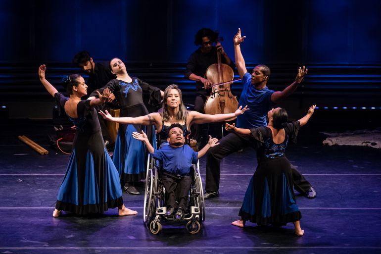 Divulgação - No dia 25, oficina ensinará elementos do circo e da dança, adaptando movimentos para o universo dos deficientes