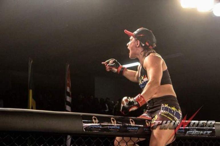 Cedida/ Ariane Sorriso:Detentora do cinturão, número 1 do ranking nacional vai defender título em São Paulo